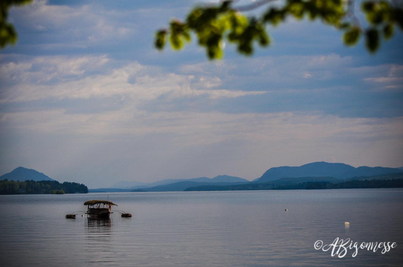 Lac Memphrémagog, Magog, Québec